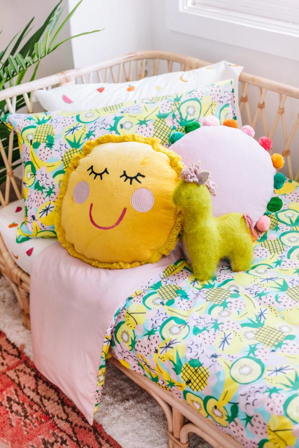 Colorful Kids Bedding from Studio DIY x Kip & Co