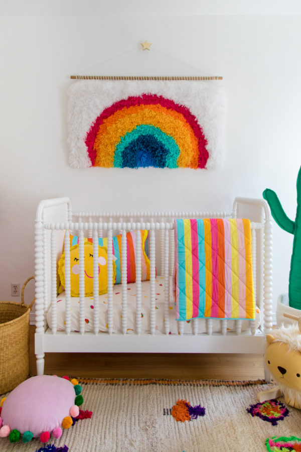 Colorful Baby Bedding from Studio DIY x Kip & Co