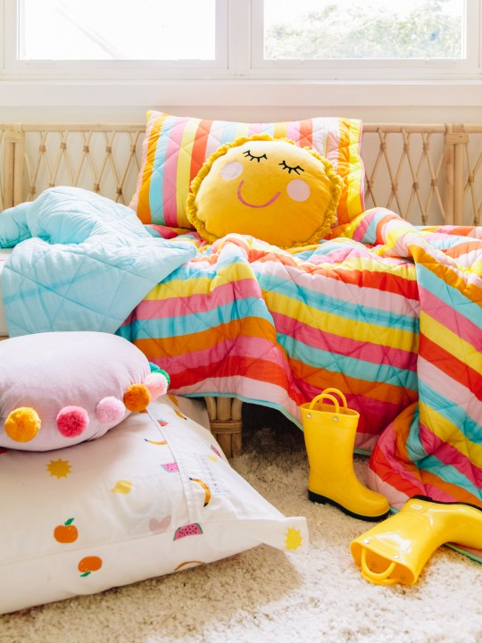 Studio DIY x Kip & Co: Our New Baby + Kids Bedding Collection!