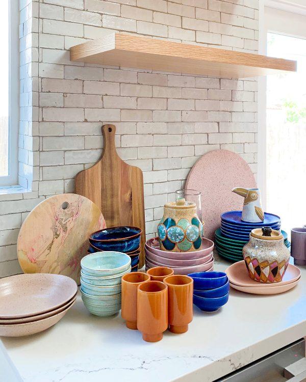 Colorful Kitchen Ceramics