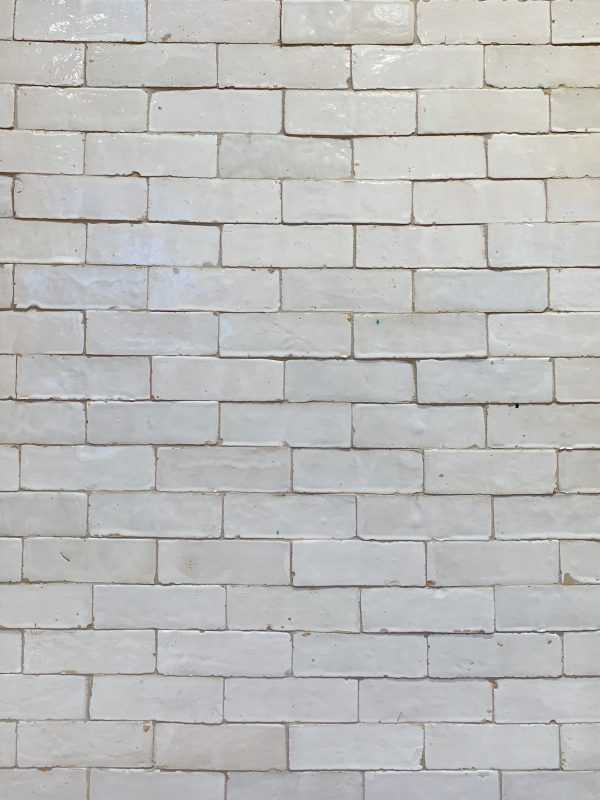 White Zellige Tile