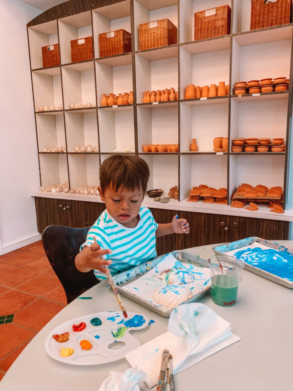 Ceramics at Beaches Turks & Caicos