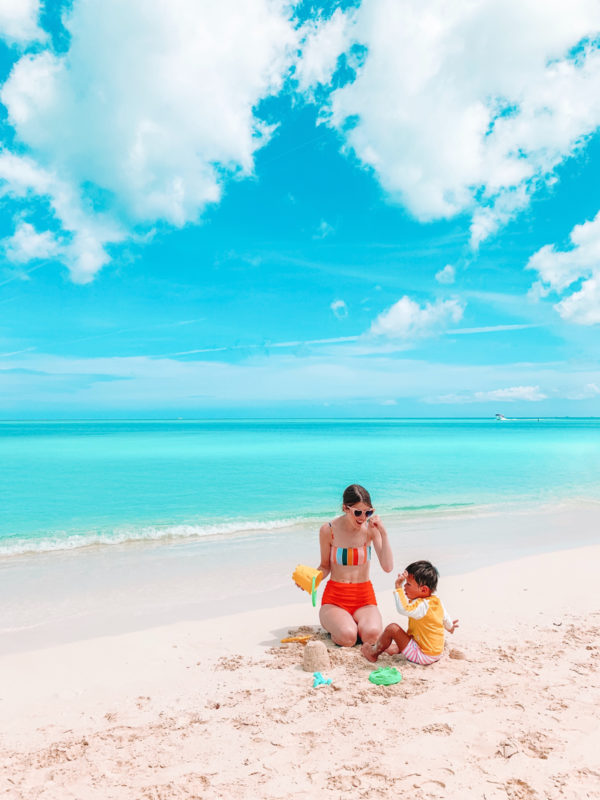 Toddlers at Beaches Turks and Caicos
