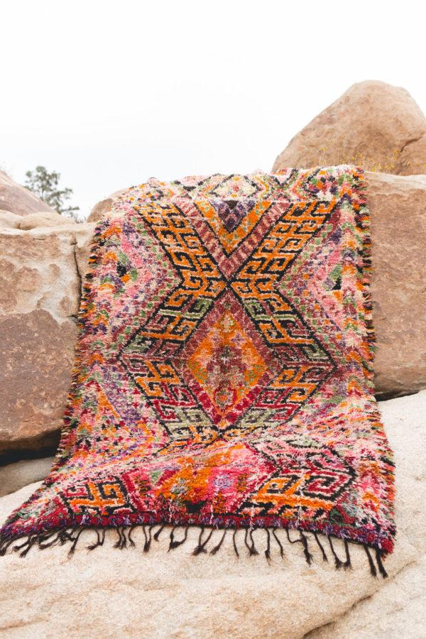 Beni Guild Colorful Moroccan Rug