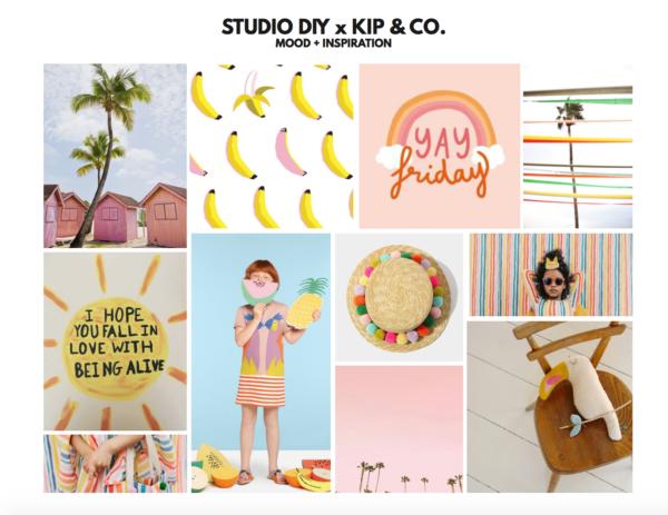 Studio DIY x Kip and Co Mood Board