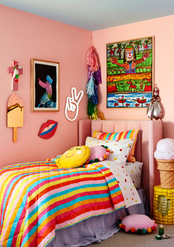 Studio DIY x Kip & Co Colorful Kids Bedding