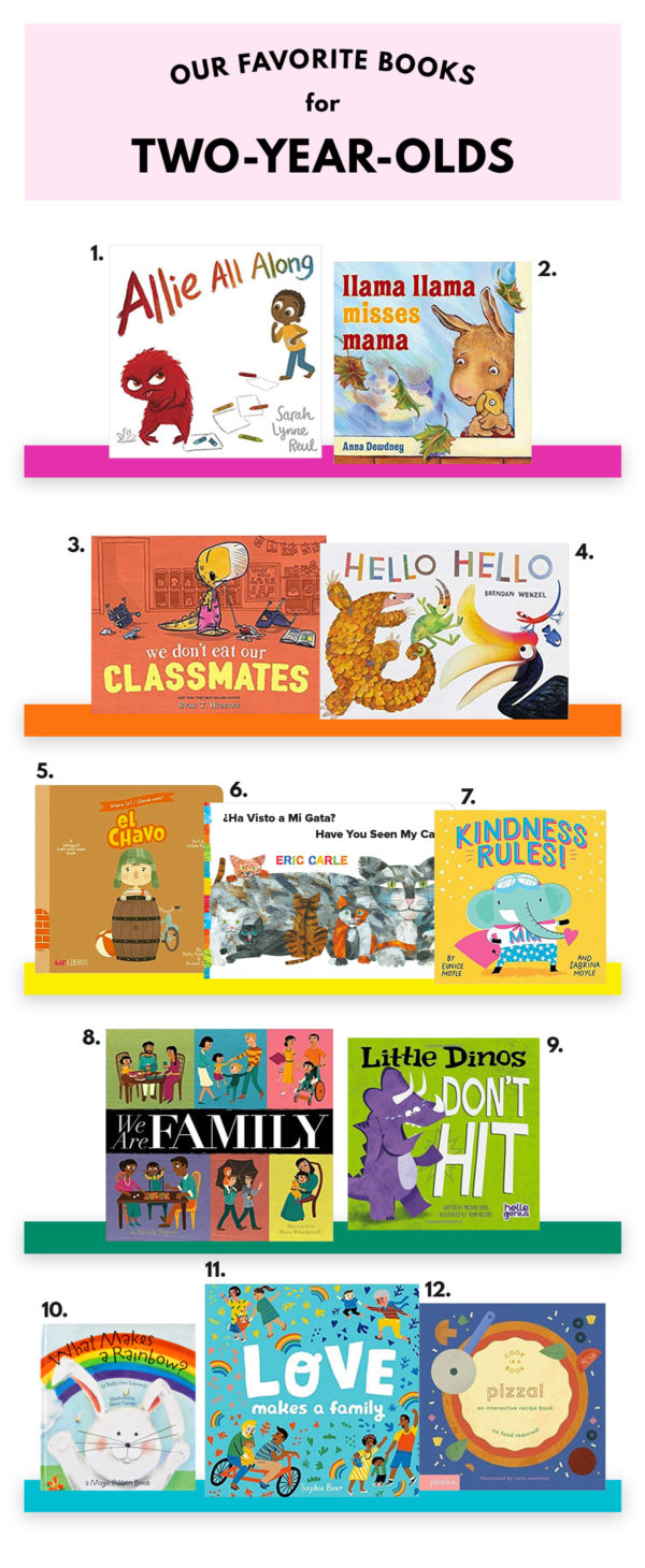 The Best Books for Two Year Olds
