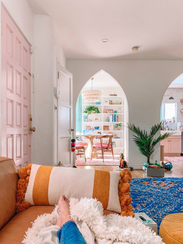 Living Room Moroccan Rug