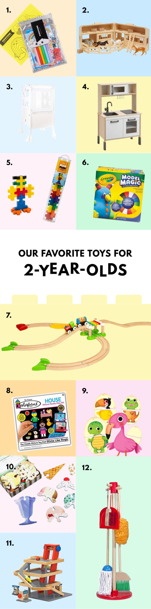 The Best Toys for Two Year Olds