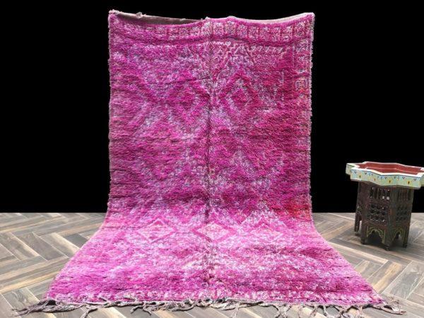 fucshia moroccan rug