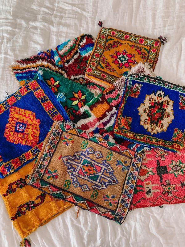 Moroccan Rug Pillows