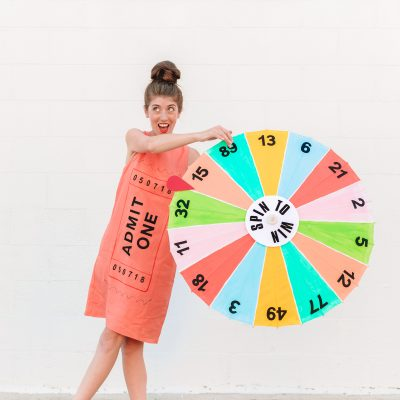 DIY Carnival Game Costume