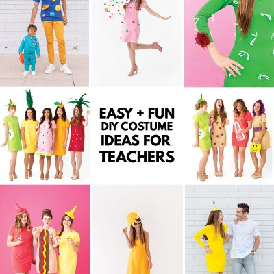 Easy Costume Ideas for Teachers