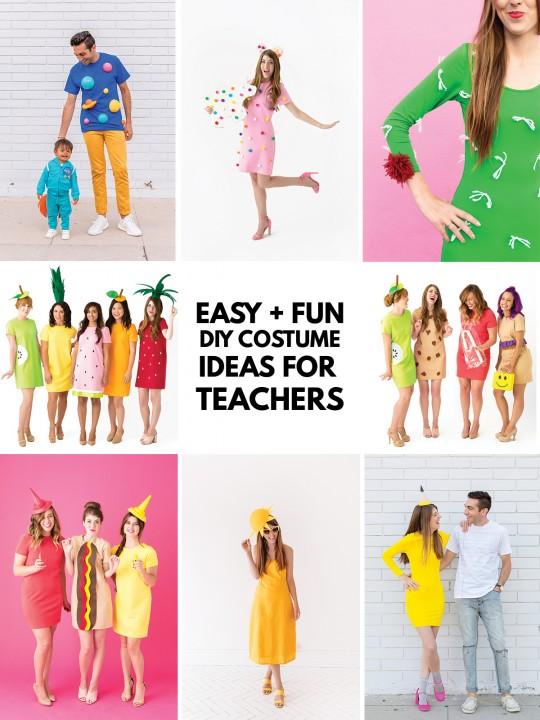 Easy Costume Ideas for Teachers