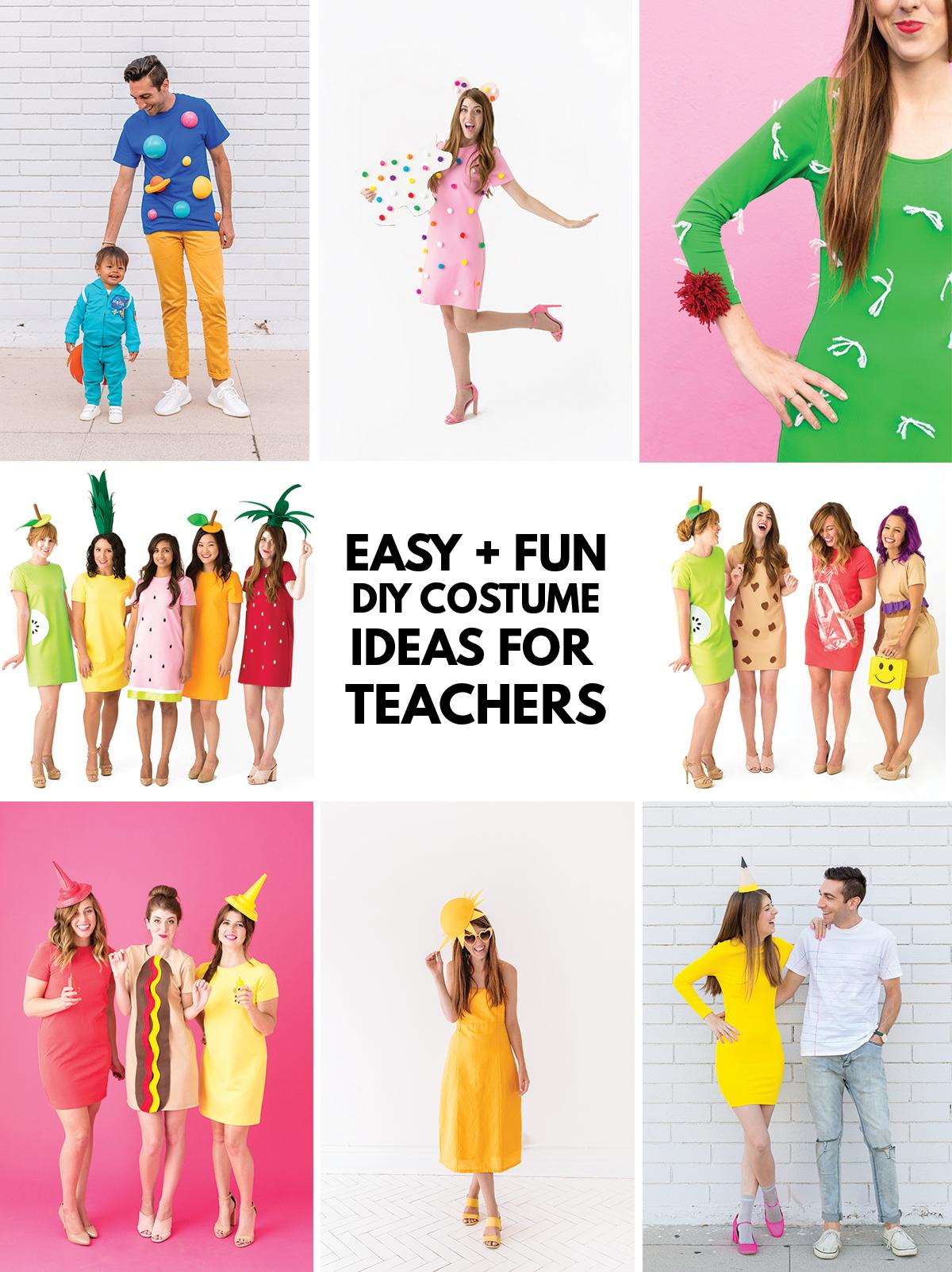 Easy Costume Ideas For Teachers Studio Diy