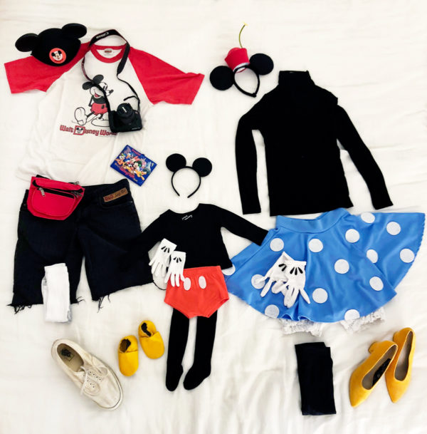 Family Mickey and Minnie Mouse Costume Ideas