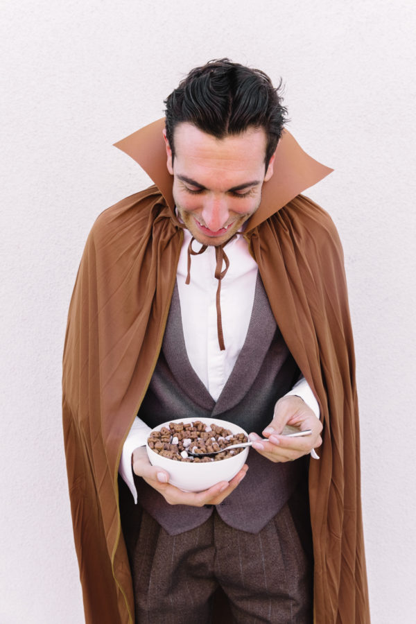 DIY Count Chocula Costume