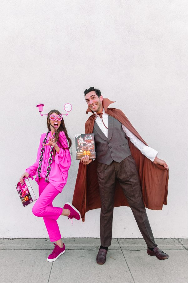DIY Monsters Cereal Costumes