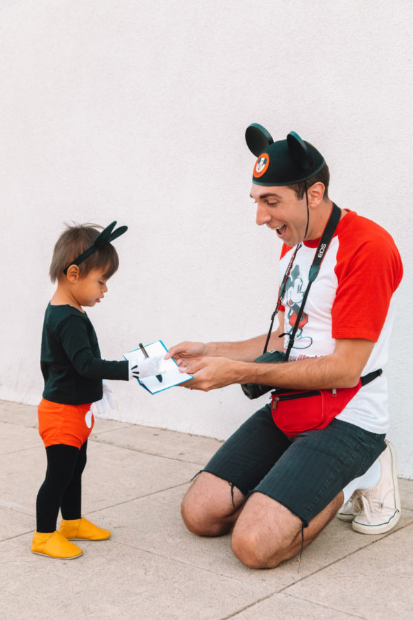 Father Son Mickey Mouse Costume Ideas