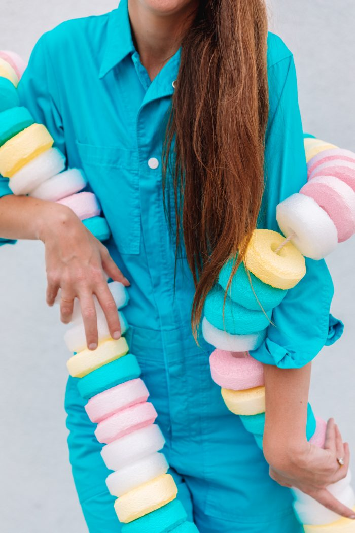 DIY Candy Necklace Costume