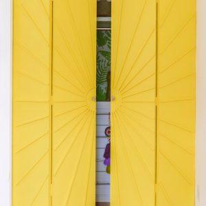 How To Make Sunburst Closet Doors (Bifold Closet Door Makeover)