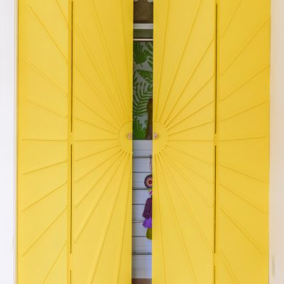 How To Make Sunburst Closet Doors (Bifold Closet Door Makeover)