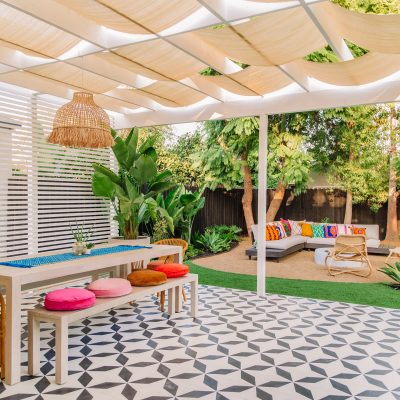 The Mindwelling: Our Colorful California Backyard Reveal