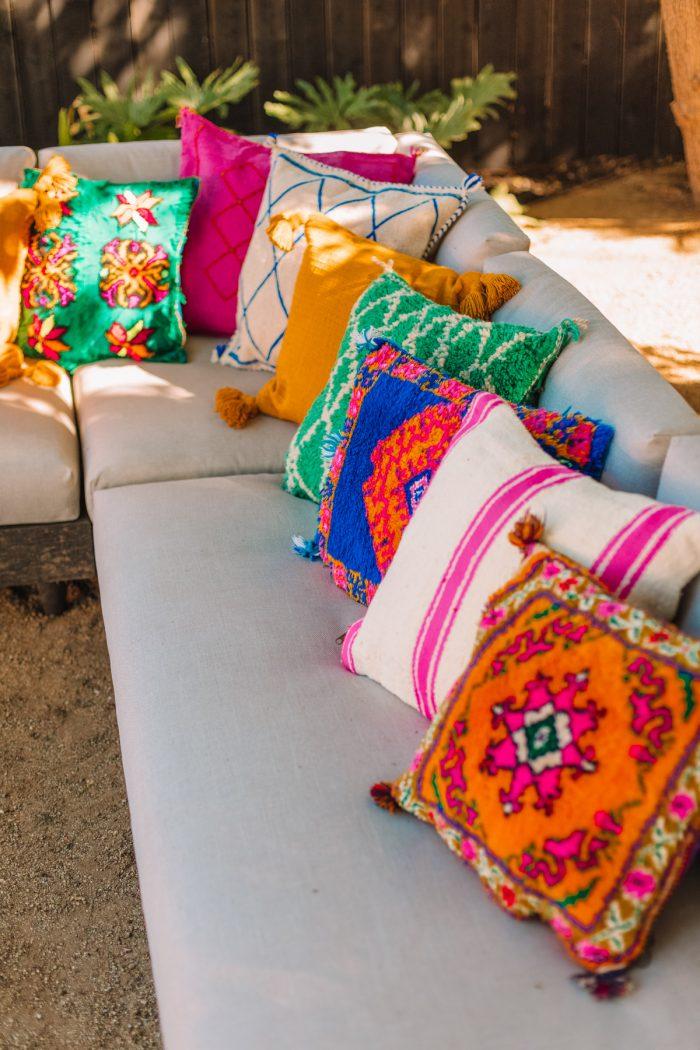 Shag Moroccan Pillows