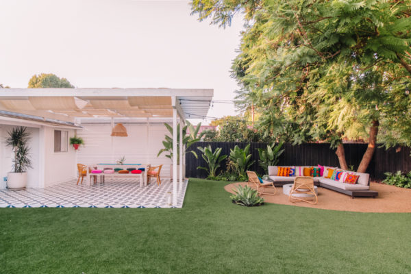 Astroturf Backyard in California