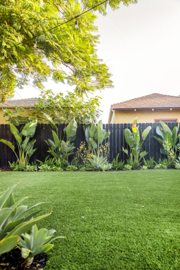 Artificial Turf Backyard California
