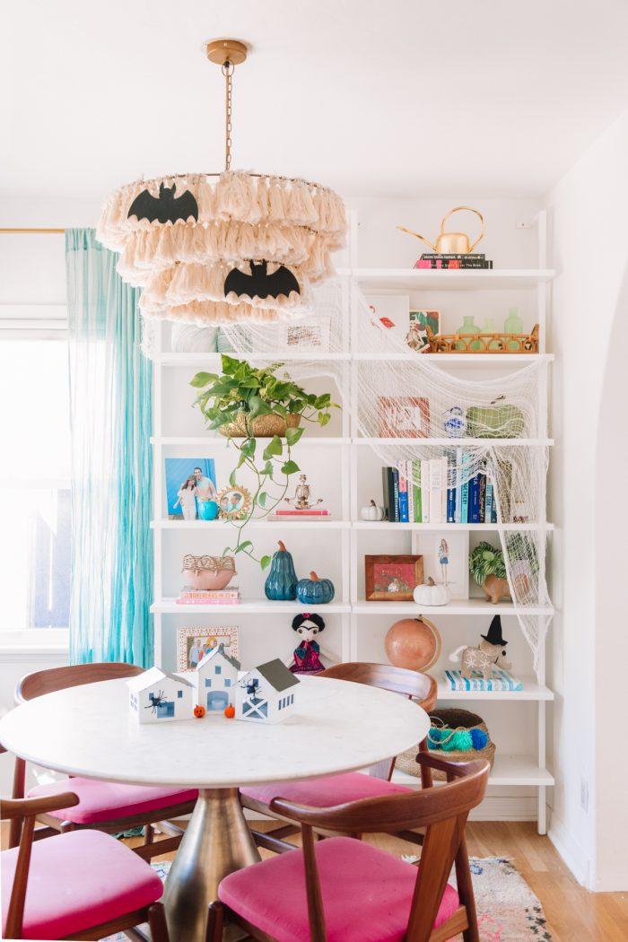 Halloween Shelf Decor