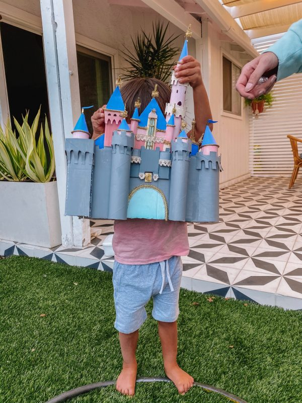 DIY Disneyland Castle Costume