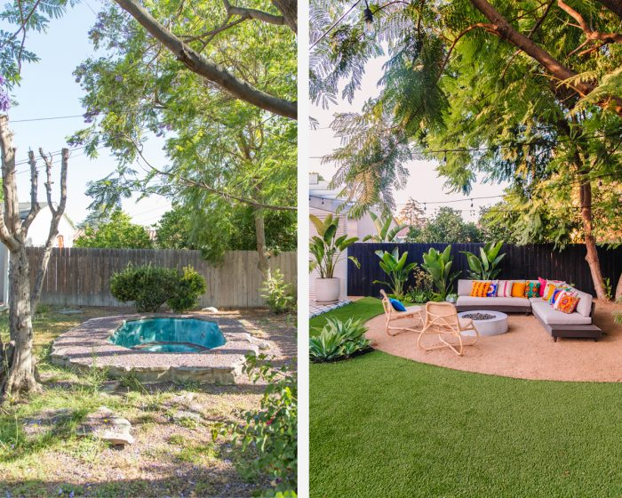 Colorful California Backyard Renovation: Before and After