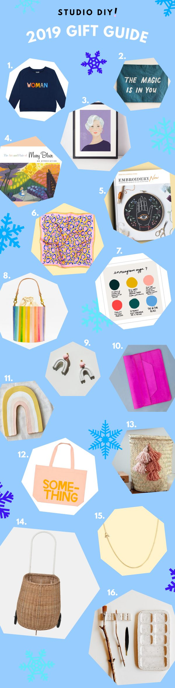 2019 Unique and Colorful Gift Guide Ideas