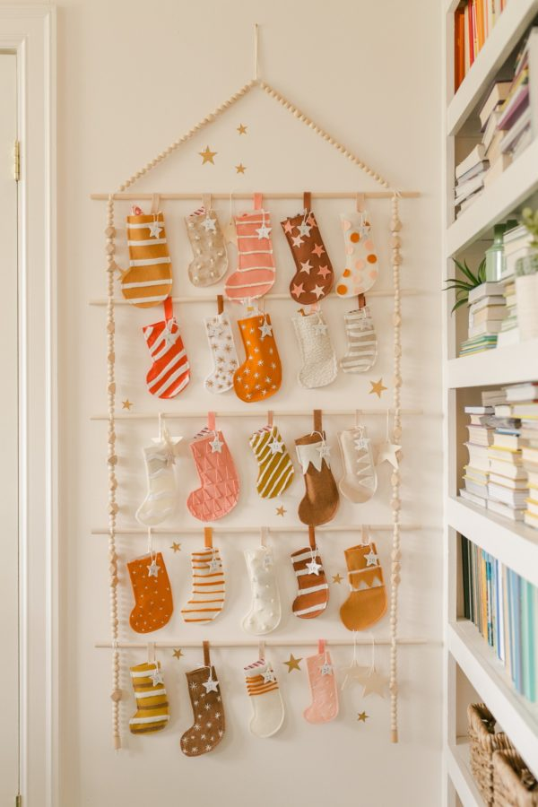 Reusable Stocking Advent Calendar