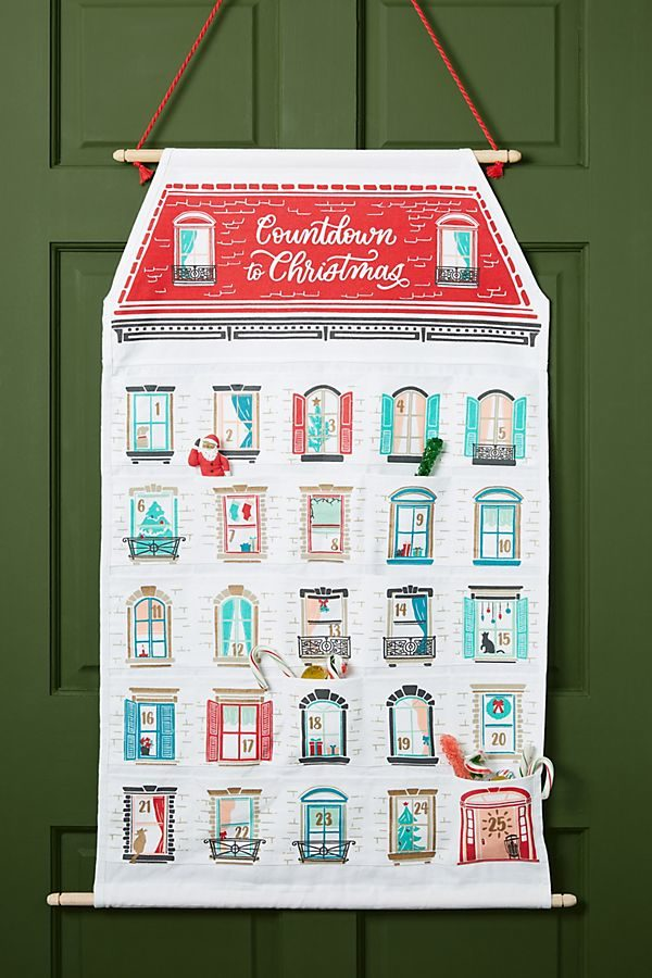 fabric house advent calendar