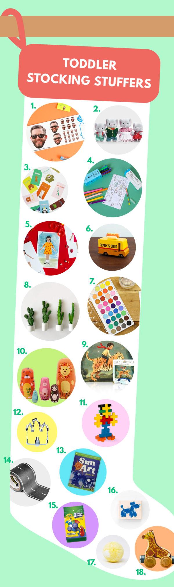 Toddler Stocking Stuffer Ideas