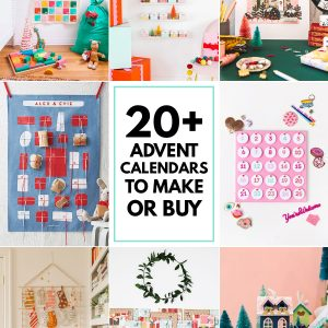 20+ Advent Calendars to Make or Buy!