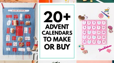 20+ Advent Calendars to Make or Buy