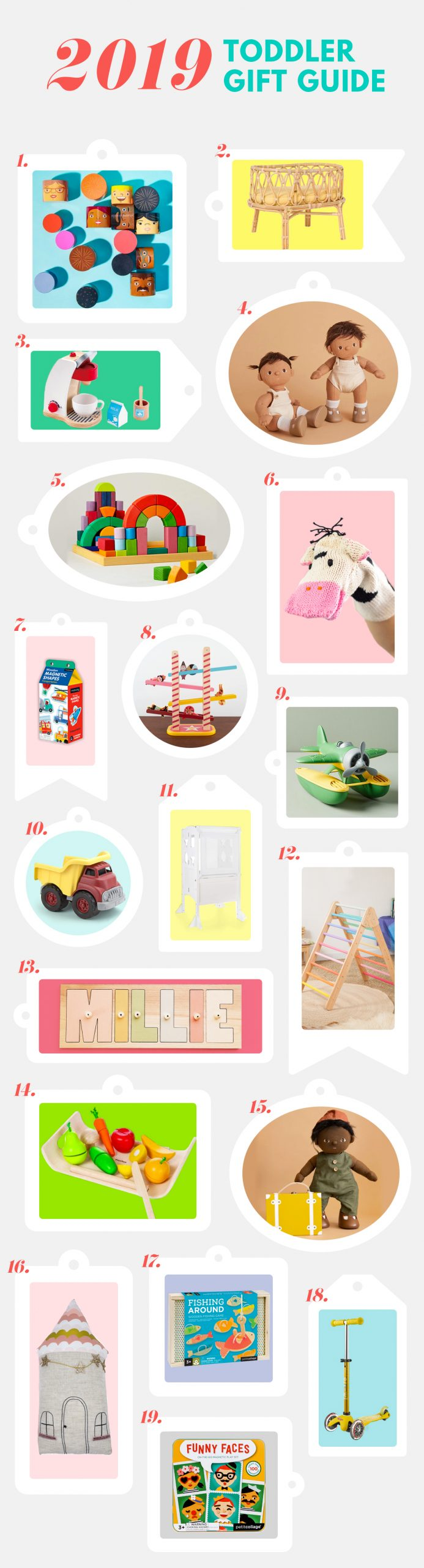 2019 Gift Guide Unique Gift Ideas For Toddlers Studio Diy