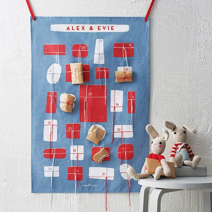 wall hanging Advent calendar