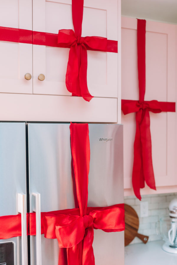 How To Turn Kitchen Cabinets into Christmas Presents