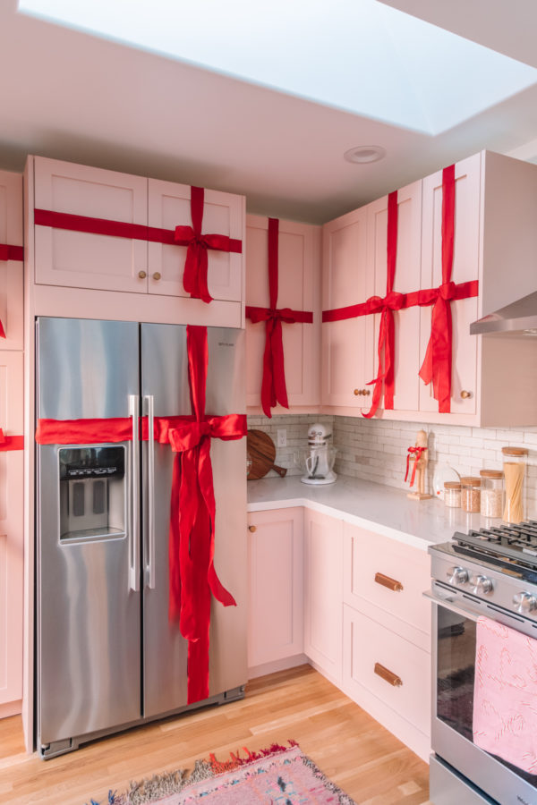 Christmas Kitchen Cabinets