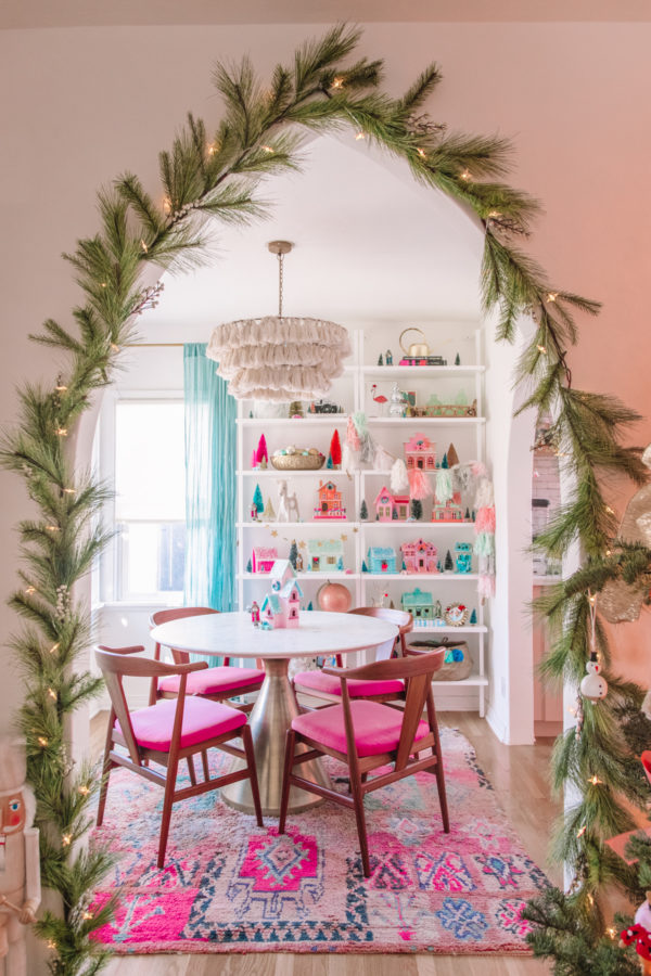 Holiday Garland on Arches