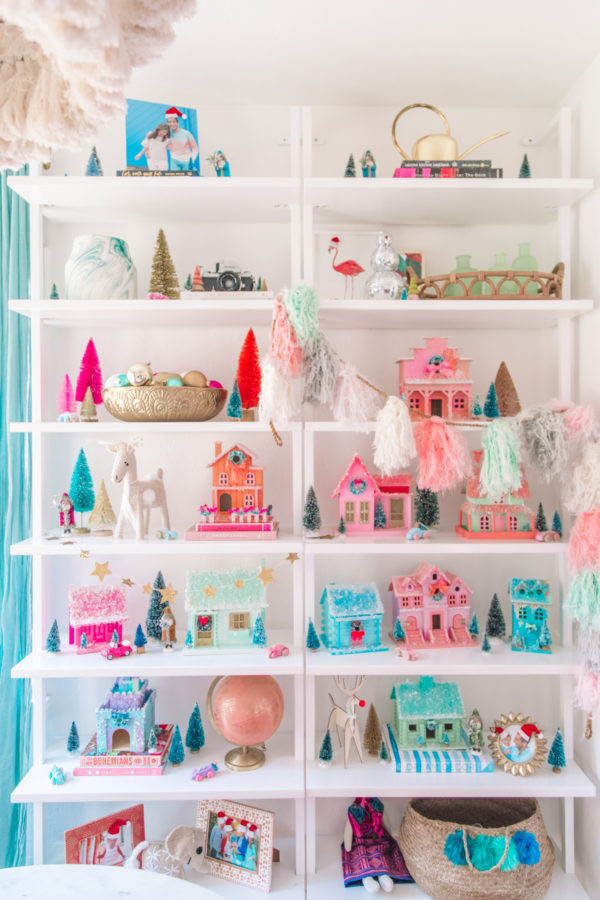 Pastel DIY Christmas Village