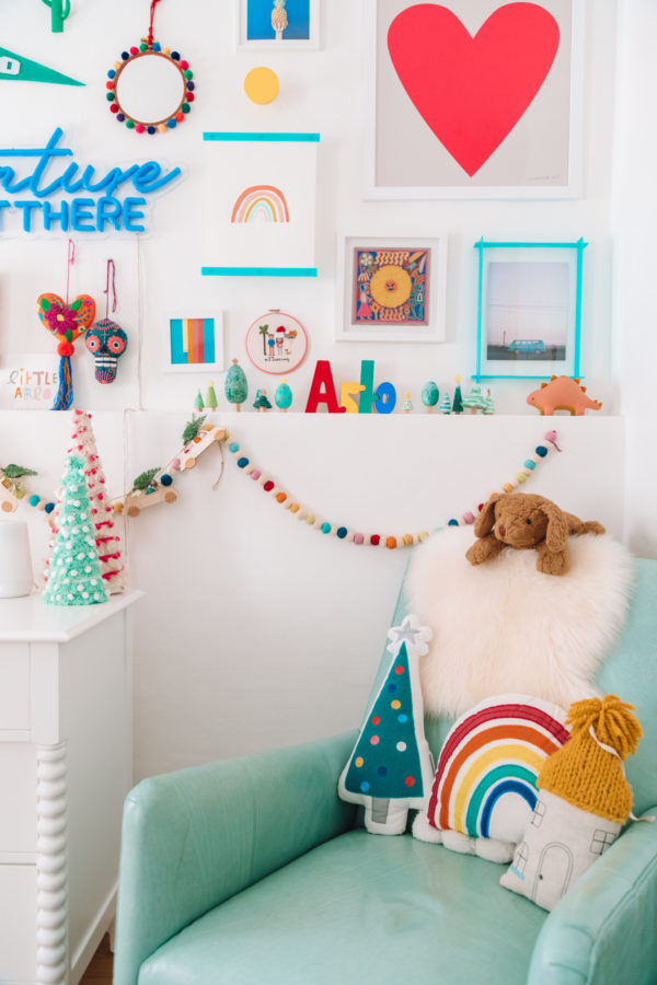 Kids Room Christmas Decor