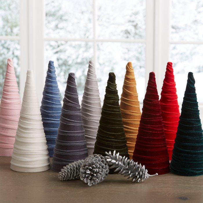 Velvet Christmas Trees