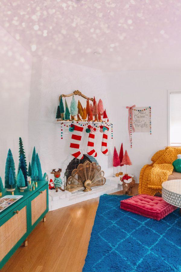 Colorful Christmas Holiday Decor