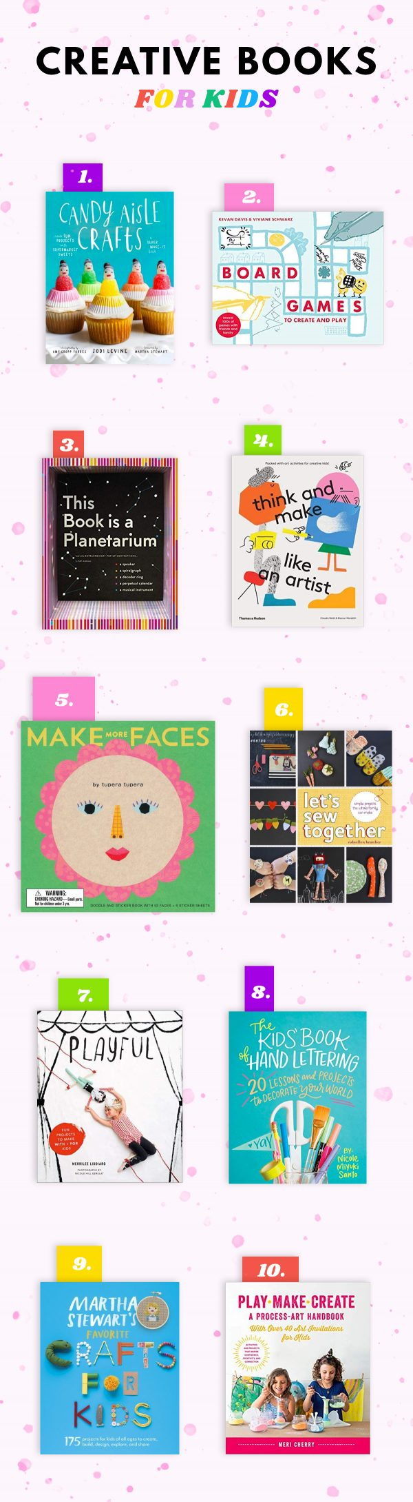 Creative Books for Kids and Teens