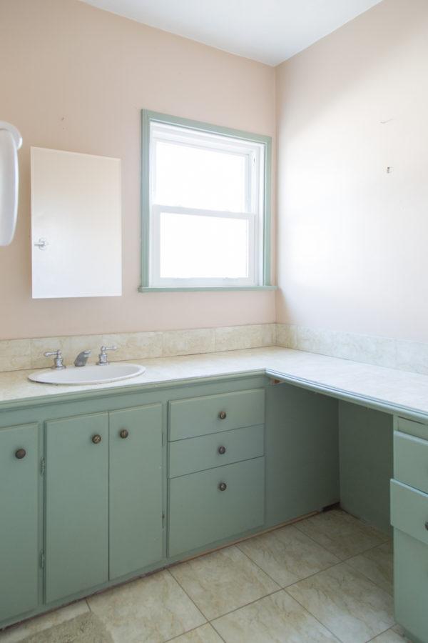 kids bathroom renovation before